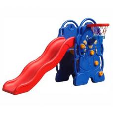 Cầu trượt  bóng rỗ hình con voi