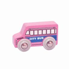 Xe buýt đồ chơi  màu hồng