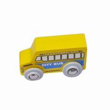 Xe đồ chơi city bus màu vàng