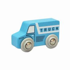 Xe tải màu xanh  đồ chơi gỗ