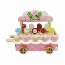 Đồ chơi xe bán kem bằng gỗ