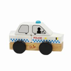 Xe đồ chơi cảnh sát lắp ráp gỗ
