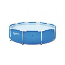 Bể bơi tròn khung kim loại