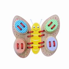 Đồ chơi xỏ dây hình con bướm