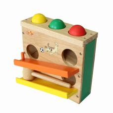 Hộp đập banh đồ chơi gỗ cho bé